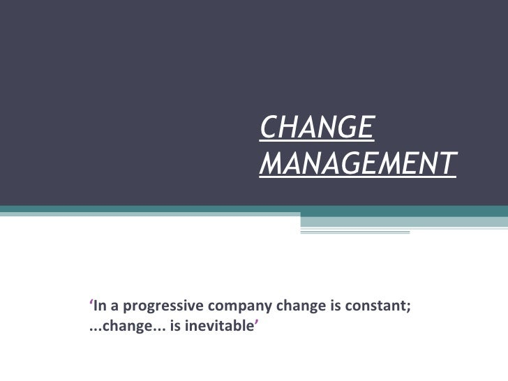 Change Management V1.4