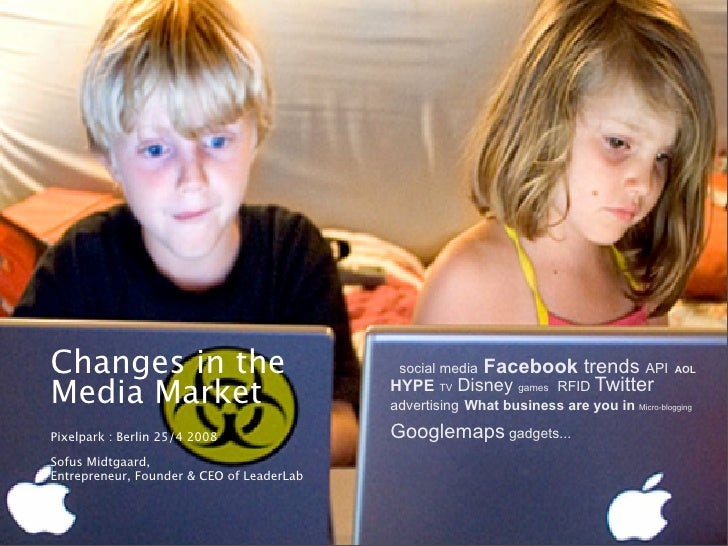 Changes in the media market