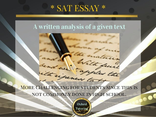 preparing for sat essay Chegg test prep experts can help you research an overview of the sat essay and more in our free sat essay article library.