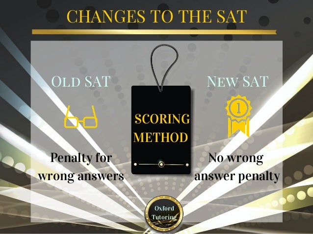 What are the main SAT topics?