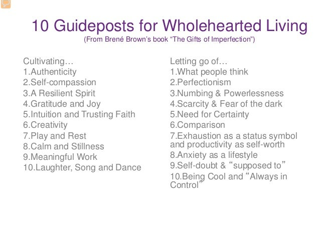 10 guideposts for wholehearted living pdf