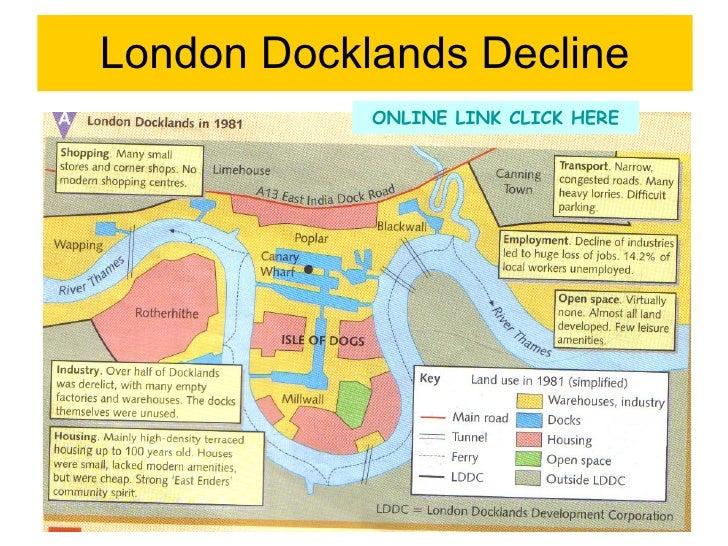 reurbanisation case study london docklands Wednesday, 19 june 2013 english world lit.