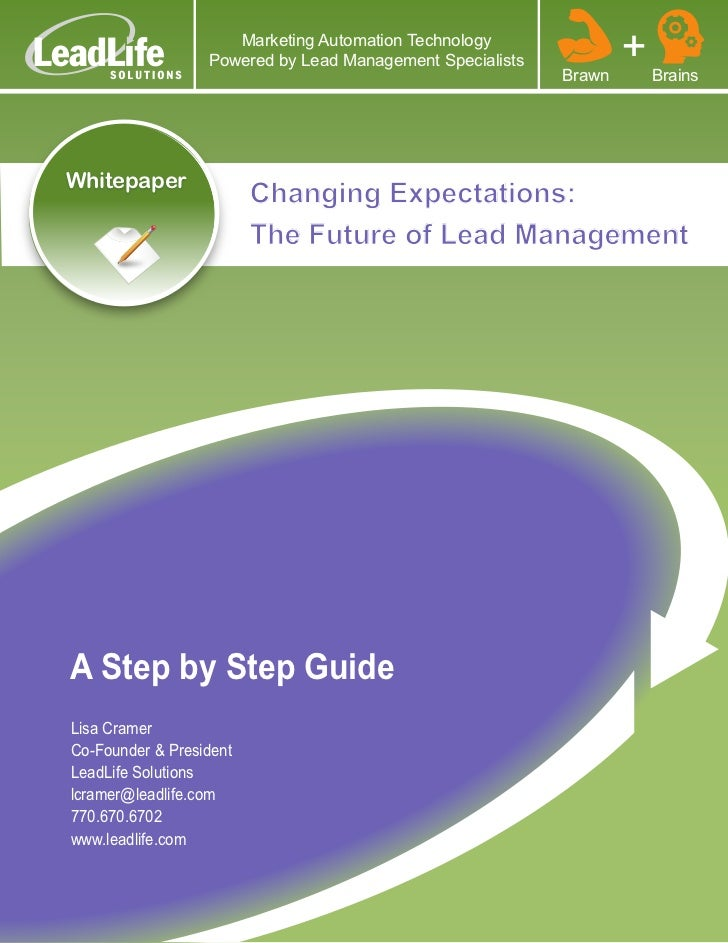 The Future of Lead Management
