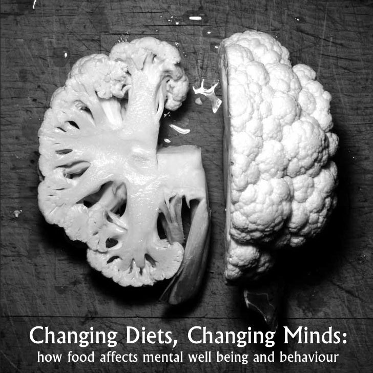 Changing Diets, Changing Minds:how food affects mental well being and behaviour
