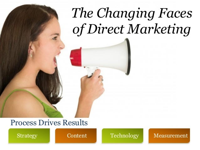 The Changing Faces                 of Direct MarketingProcess Drives Results Strategy       Content   Technology   Measure...