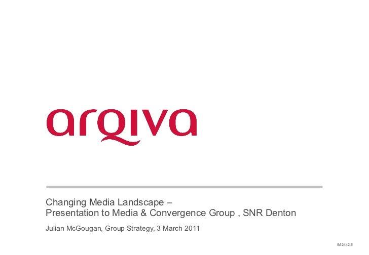 Changing Media Landscape