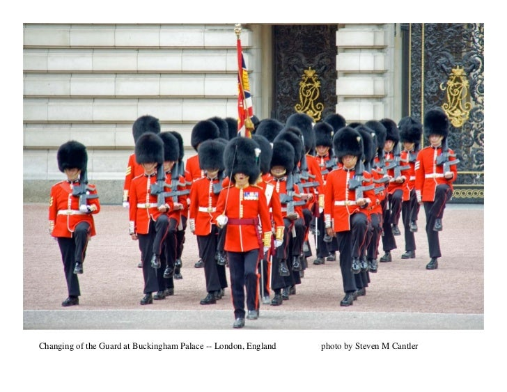 Changing of the Guard at Buckingham Palace -- London, England   photo by Steven M Cantler