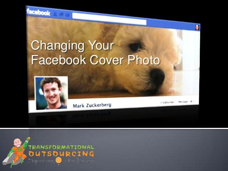 Changing your facebook cover photo