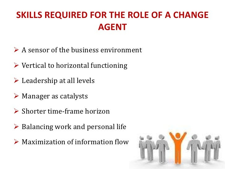 manager as a change agent 2 | change agent's guide to change management lamarsh global managed change™ is the core of this methodology, so let's examine it in greater detail.
