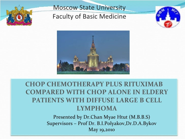 Moscow State University Faculty of Basic Medicine Presented by Dr.Chan Myae Htut (M.B.B.S) Supervisors – Prof Dr. B.I.Poly...