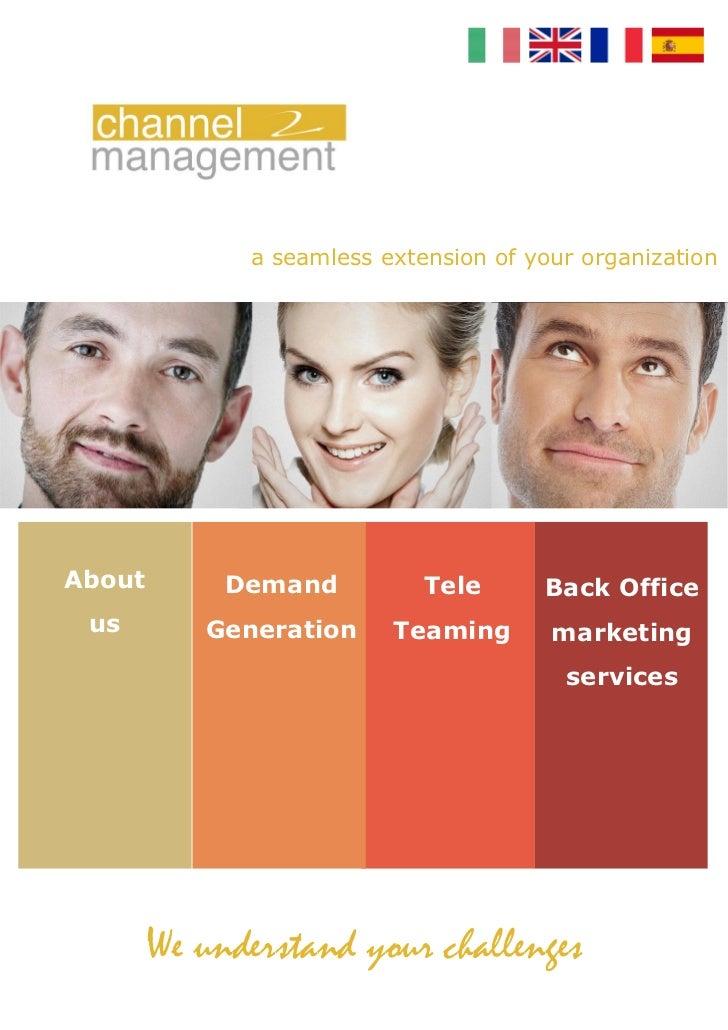 Channel Management Services 2012