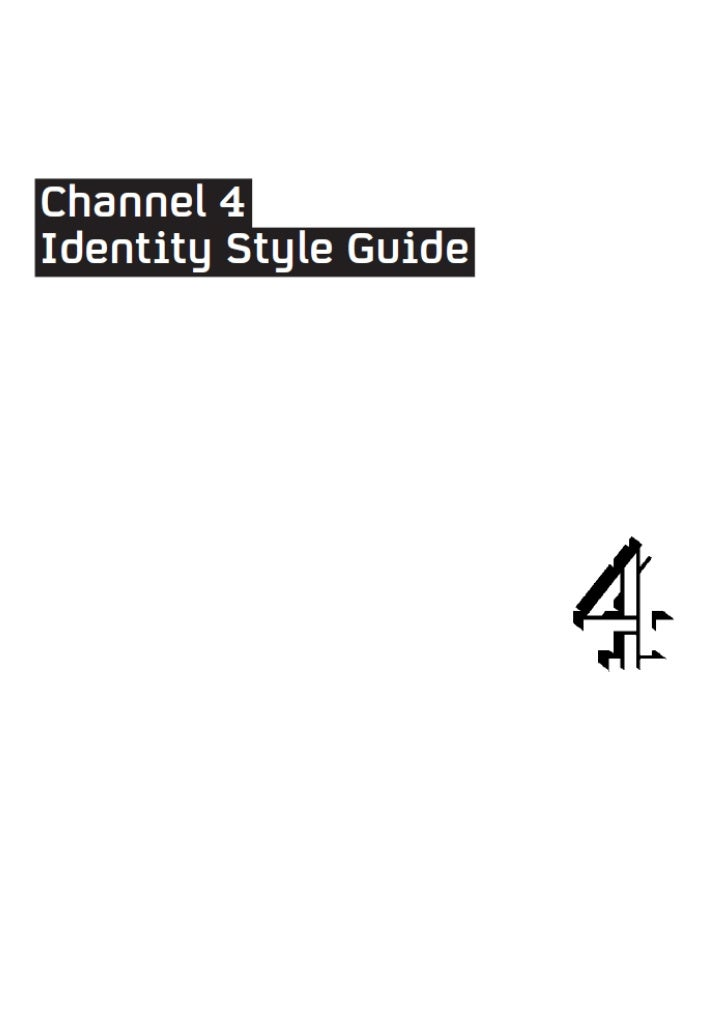 Channel 4 style guide