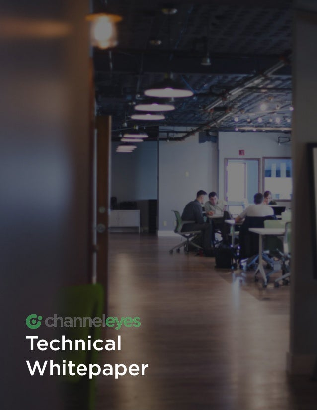 1 THE CHANNELEYES TECHNICAL WHITEPAPER Technical Whitepaper