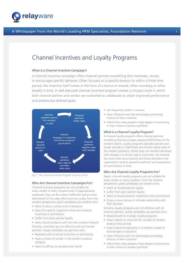 A Whitepaper from the World's Leading PRM Specialists, Foundation Network                                                 ...