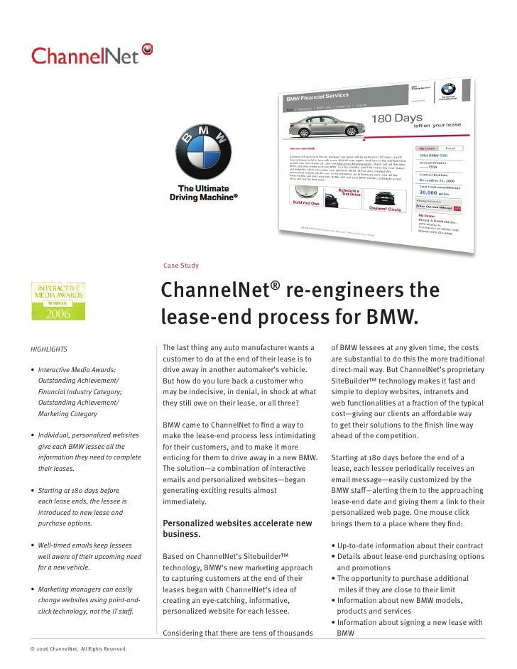 Case Study                                             ChannelNet® re-engineers the                                       ...