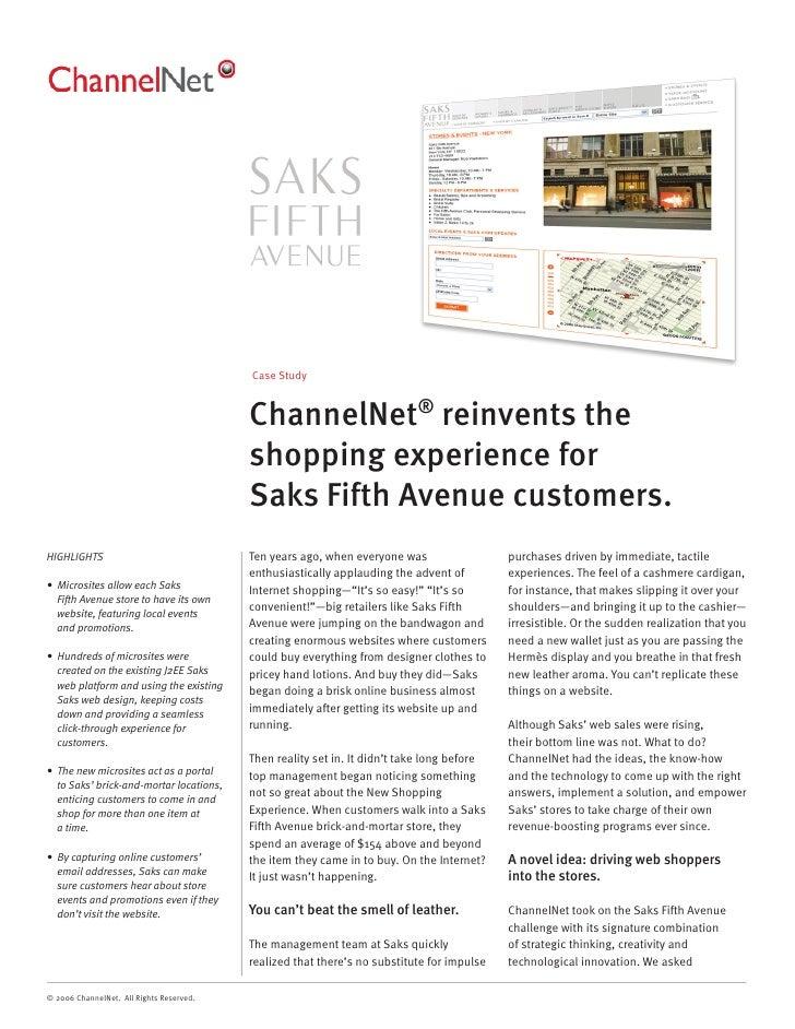 Case Study                                             ChannelNet® reinvents the                                          ...