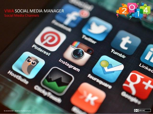 Social Media Kanäle 2014 - eine Übersicht und aktuelle Trends