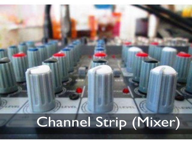 Channel strip (mixer)