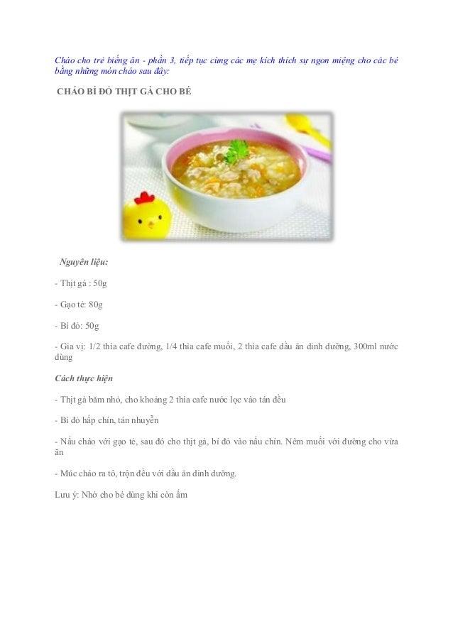 Chao cho be bieng an (phan 3)