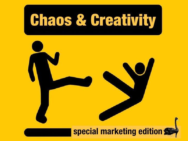 Chaos & Creativity     Chaos & Creativity: Special Marketing Edition   special marketing edition                          ...