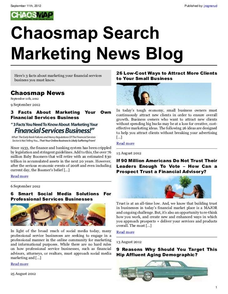Chaosmap Social Media Marketing News Blog