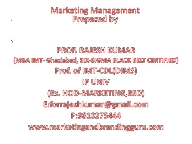 Chap 2,role of imc in marketing process