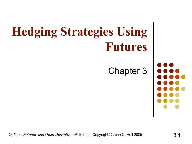 Hedging Strategies Using Futures Chapter 3