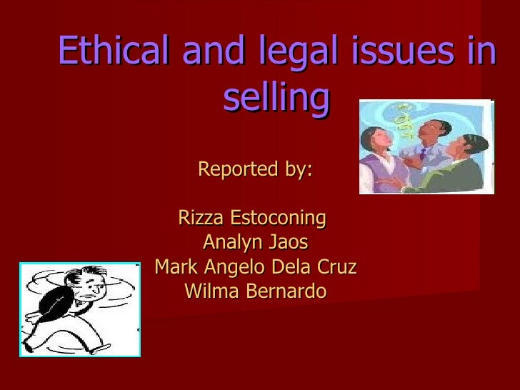 Chap. 3 ethical & legal issues