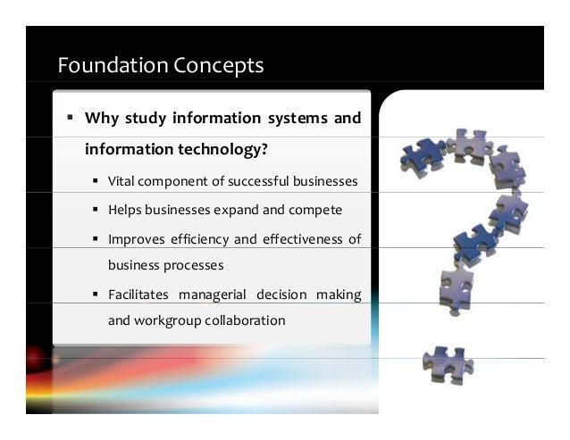 Study information management