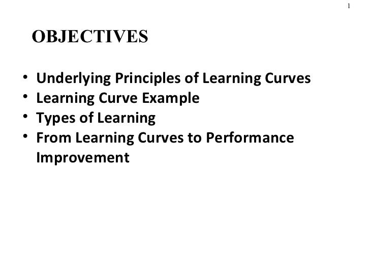 Learning Curves in Production Management