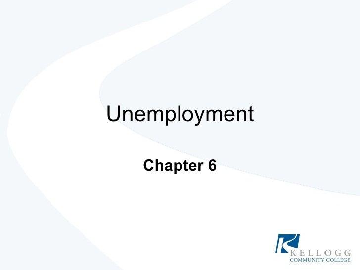 Unemployment Chapter 6