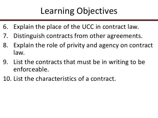 Privity of contract essay