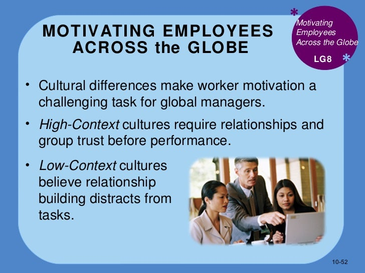 challenges in motivating employeess Case examples at a large international accounting firm, strong policies allow employees to care for family members who become ill, including mothers and fathers.