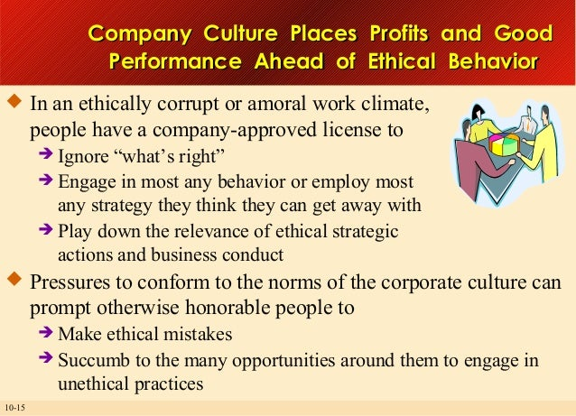 how can corporations ensure that their employees behave ethically Does a business corporation have a there is no question that corporations can and have abused their set of requirements for ethically sound behavior for.