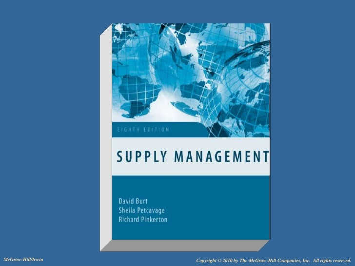 Chap016 suppply management ops405