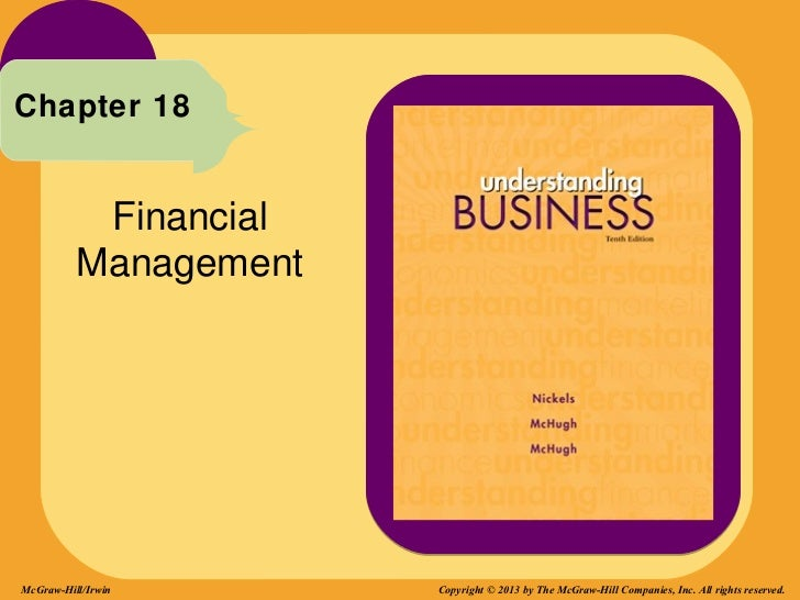 Chapter 18           Financial          ManagementMcGraw-Hill/Irwin      Copyright © 2013 by The McGraw-Hill Companies, In...