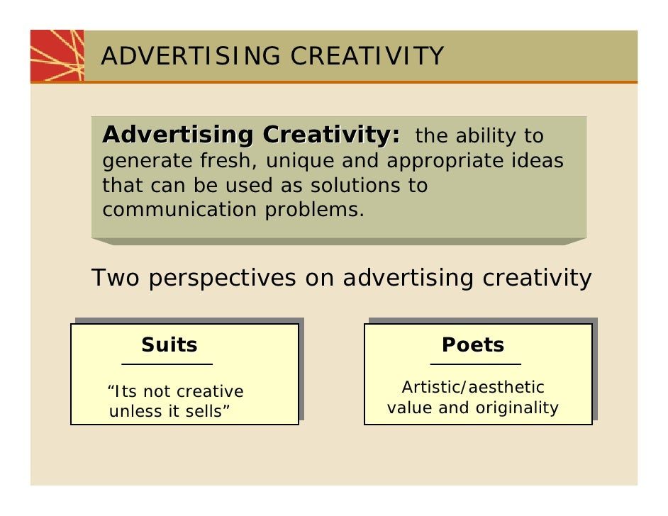 what is creativity in advertising John dragoon, none opinions expressed by forbes contributors are their own recently, there has been discussion around the exodus of senior creative talent.