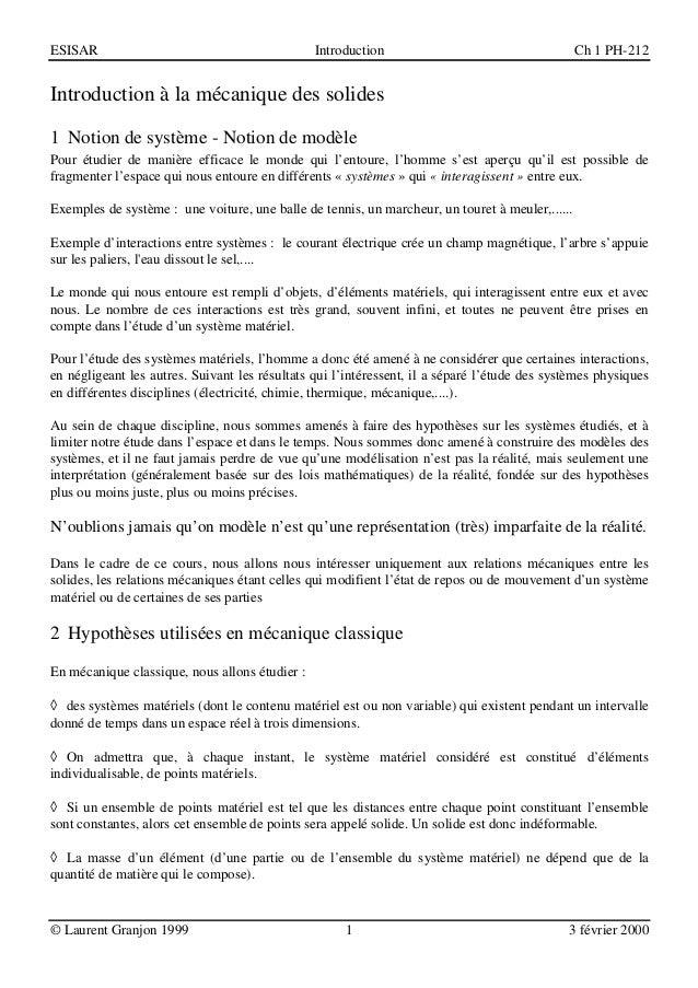 ESISAR                                          Introduction                                     Ch 1 PH-212Introduction à...
