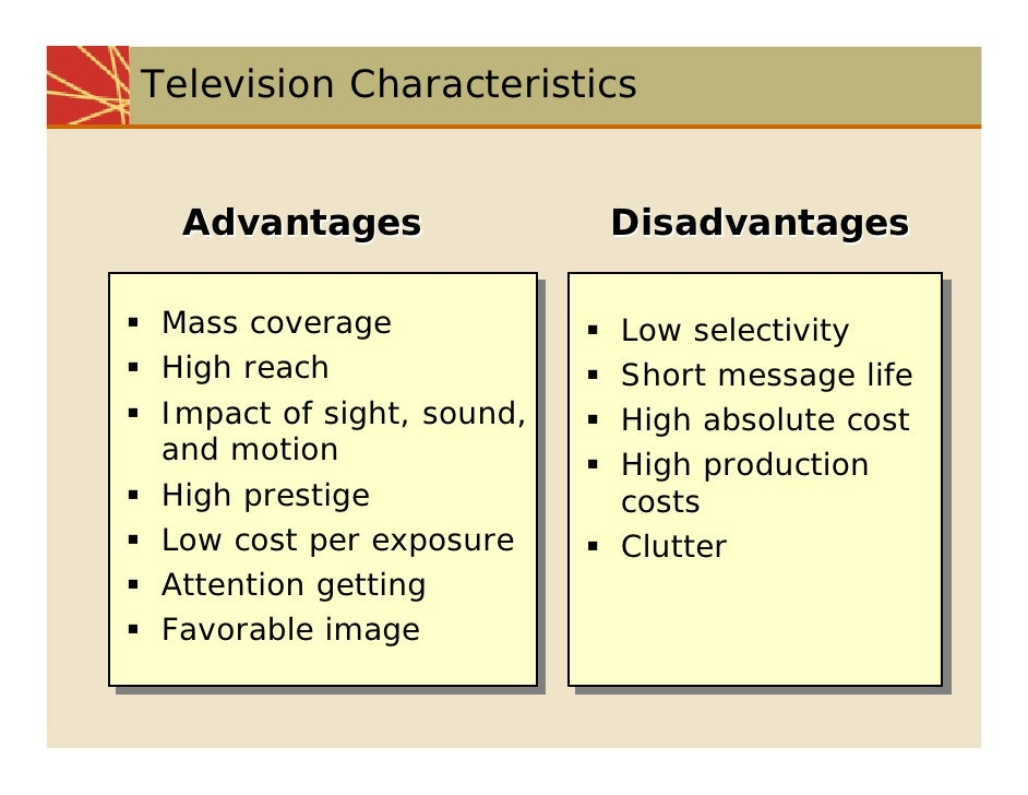 essay on tv advantages and disadvantages