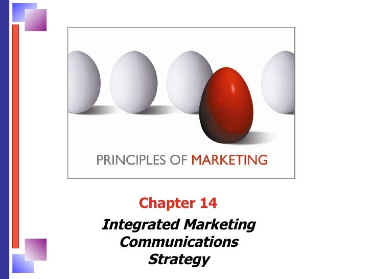 Chapter 14 Integrated Marketing Communications Strategy