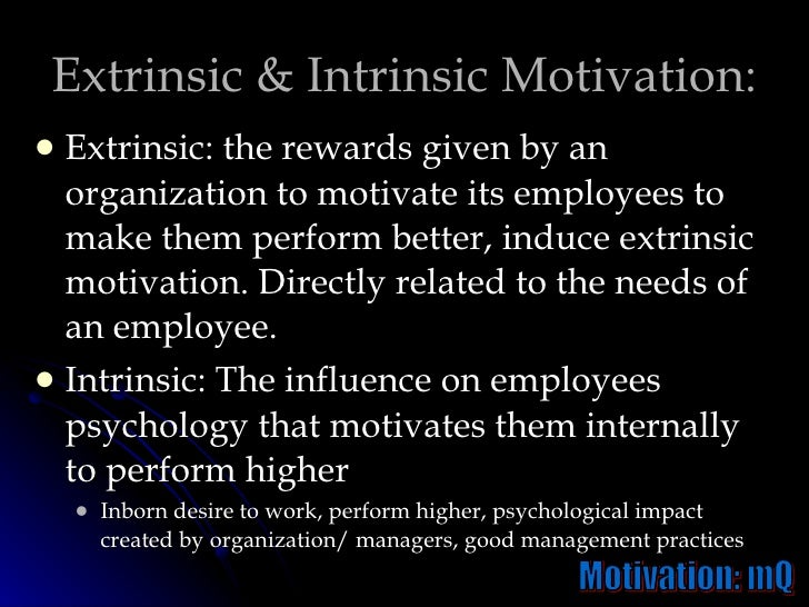 employee motivation its influence on organisations' Effect of motivation on employee productivity: a study of (1990) reported that motivation formulates an organization more successful because provoked.