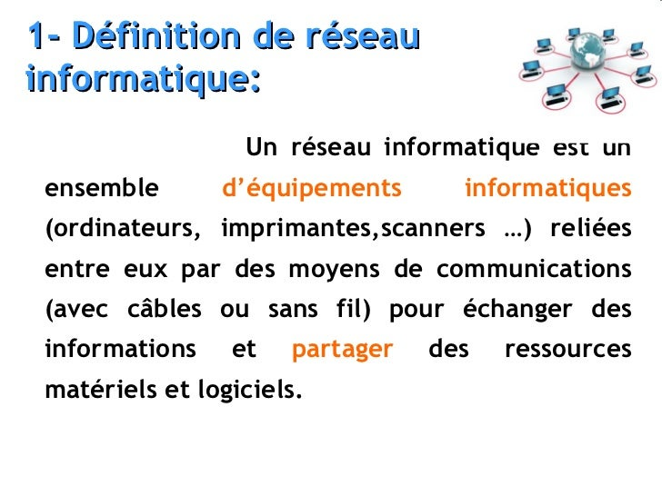 R seaux informatiques reseau local lan for Definition architecture informatique