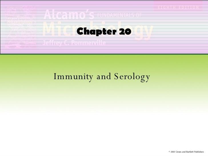 Immunity and Serology Chapter 20