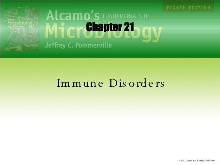 Immune Disorders Chapter 21