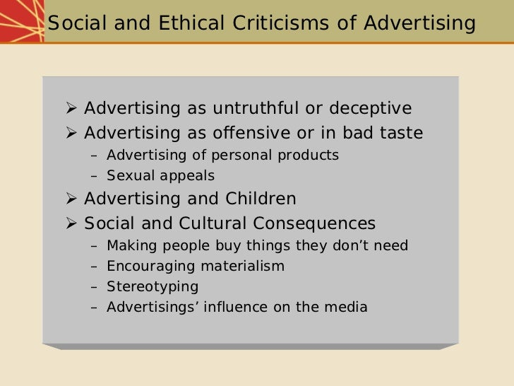 bad influential advertisements The power of advertising to influence children and adolescents (and adults, for that matter) is incontrovertible 1,10 advertising works good guys or bad guys.