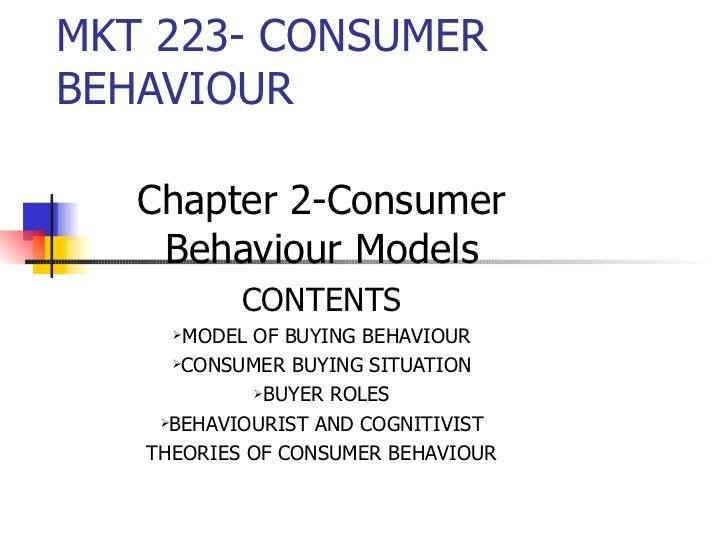 consumer buying behavior research paper