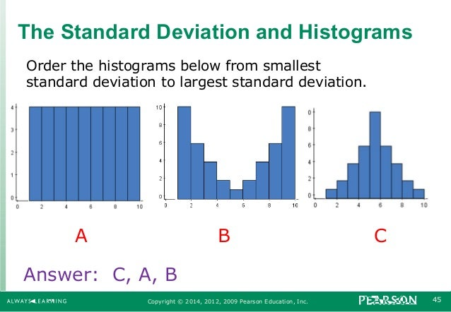 exercise 18 mean standard deviation and