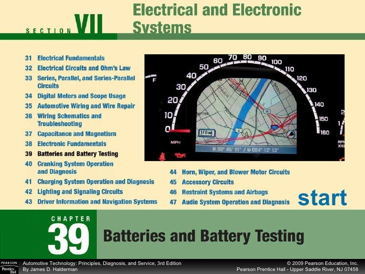 Chapter 39 Batteries and Battery Testing