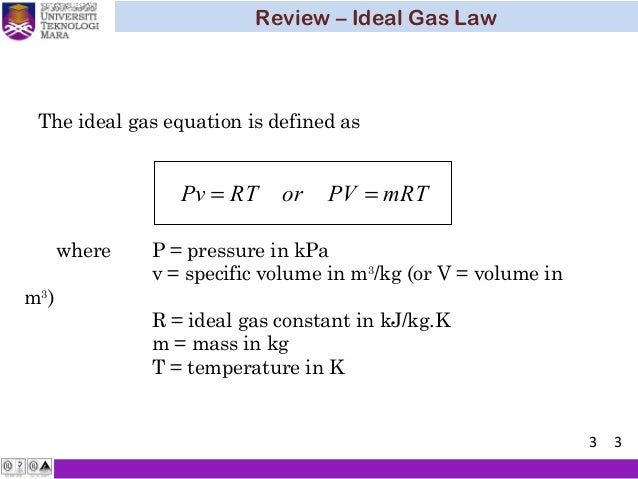 Ideal Gas Flow