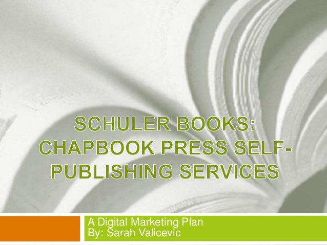 Chapbook press self publishing